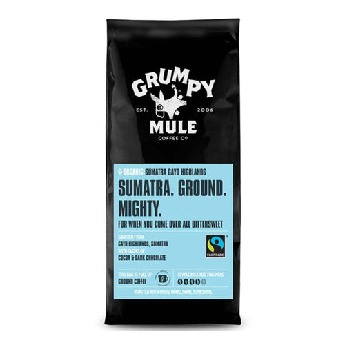 Grumpy Mule Organic Sumatra Gayo Highlands Ground Coffee