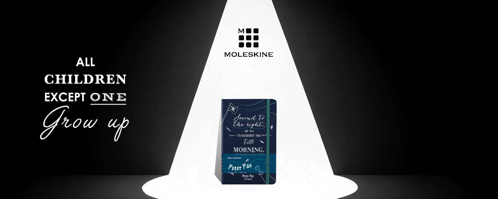Moleskine Limited Edition Notebooks Peter Pan