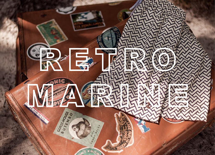 Retromarine Swimwear Clothing 2019 | The Project Garments