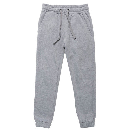 Regular Fit Cotton Sweatpants Melange Grey
