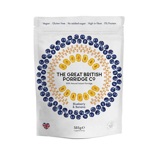 The Great British Porridge Co Blueberry and Banana