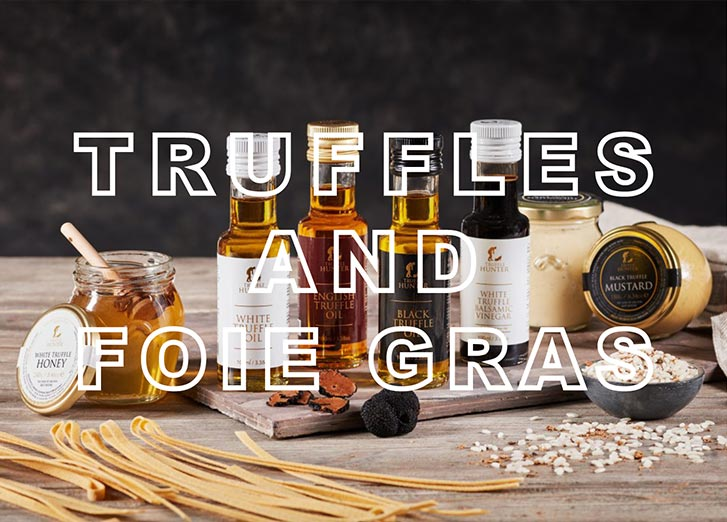Truffles and Foie Gras | Foodhall Spring 2019 | The Project Garments