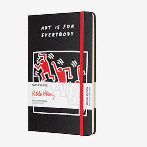 Moleskine Keith Harring Notebook Large Black | The Project Garments