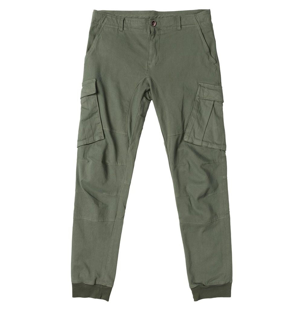 Cargo Cotton Pants Light Khaki - A