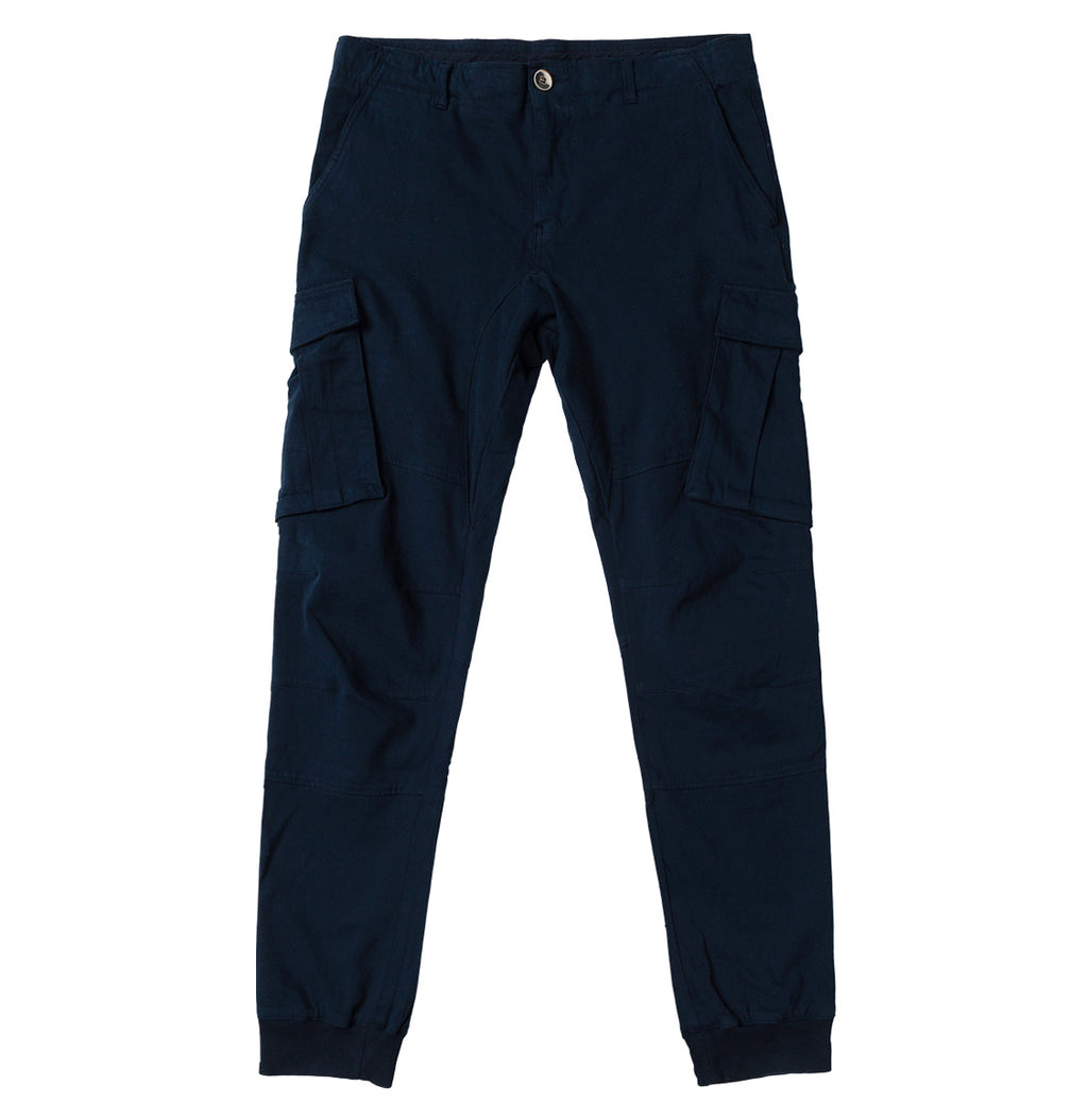 Cargo Cotton Light Weight Pants Navy Blue | The Project Garments - Product