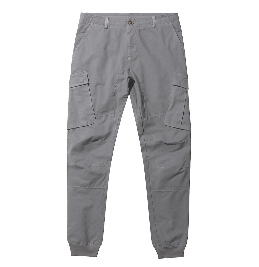 Cargo Cotton Pants Grey