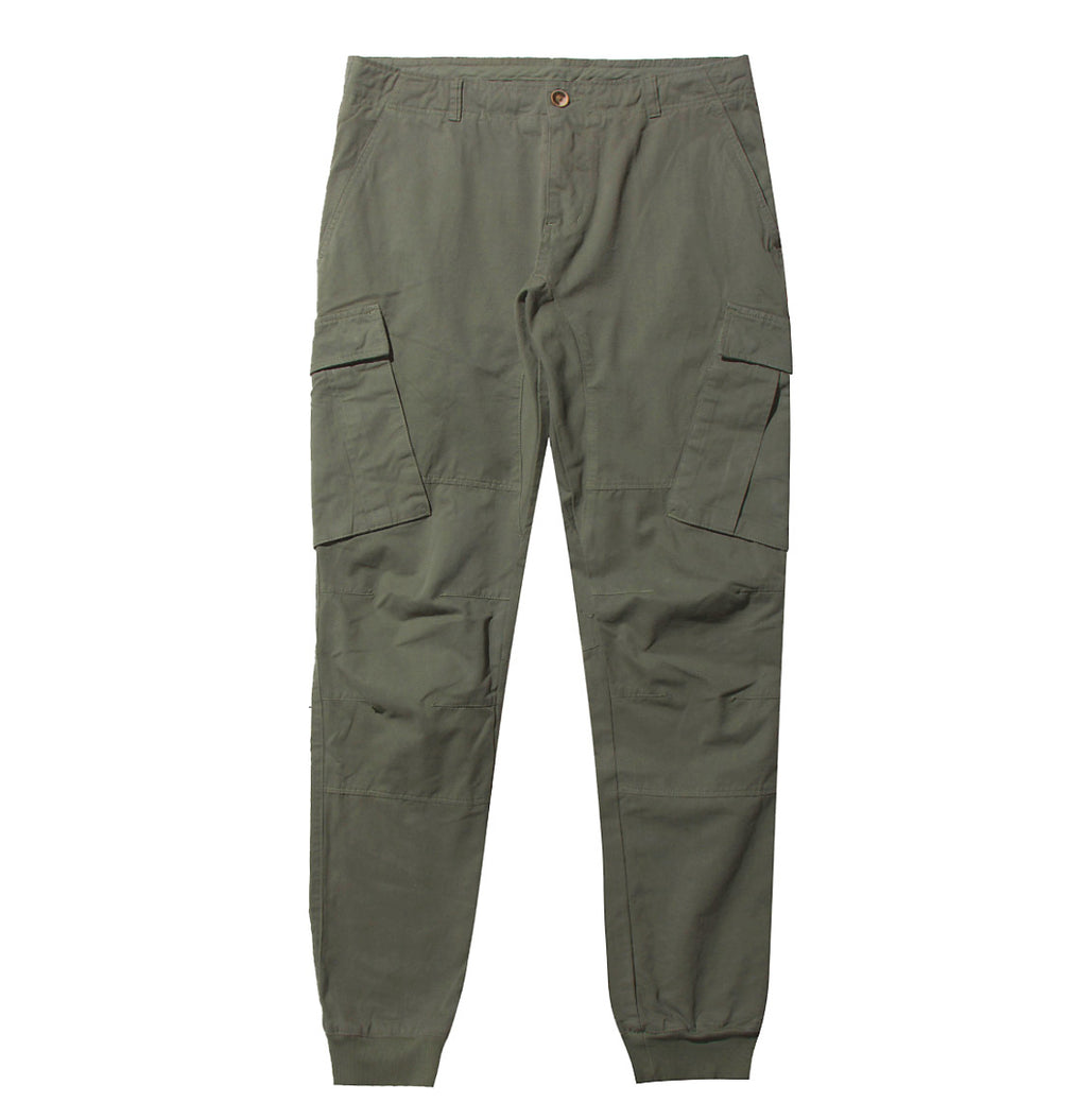 Cargo Cotton Pants Khaki