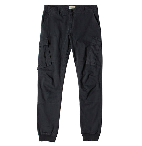 Cargo Cotton Light Weight Pants Black