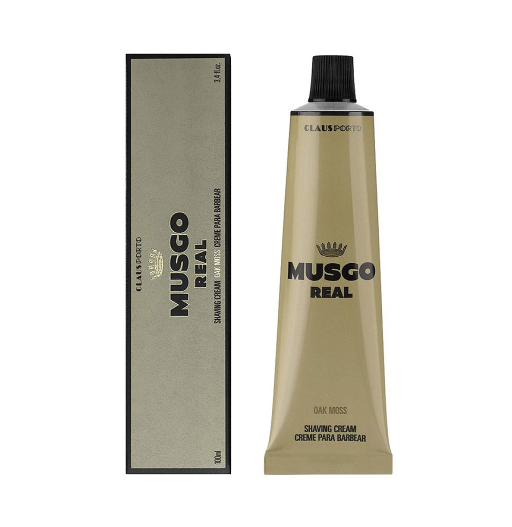 Claus Porto Musgo Real Oak Moss Shaving Cream - B