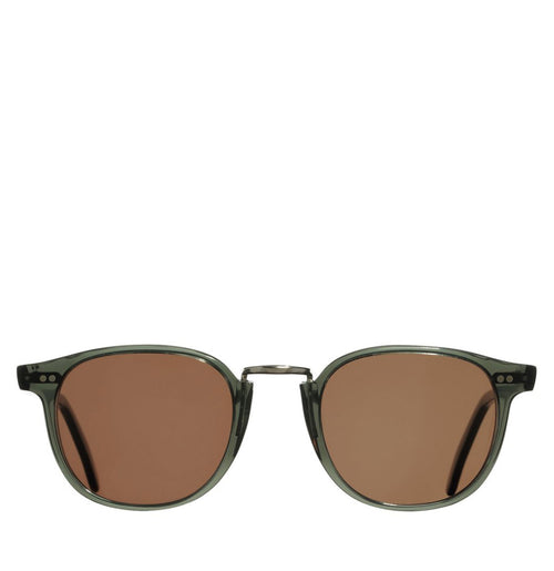 Cutler and Gross 1007 Aviator Blue - Brown Lens | The Project Garments - A