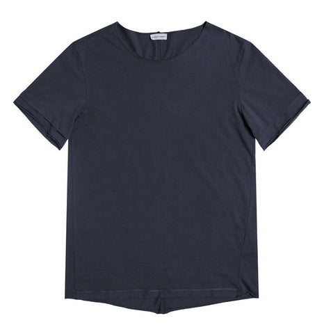 Crew Neck Modal-Blend Pocket T-shirt Myrtle Green