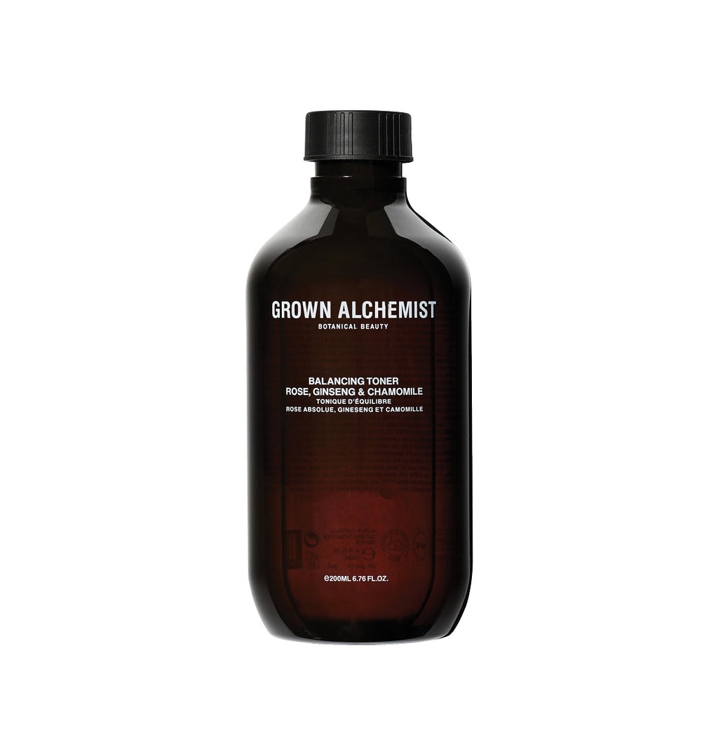 Grown Alchemist Balancing Toner Rose Ginseng and Chamomile