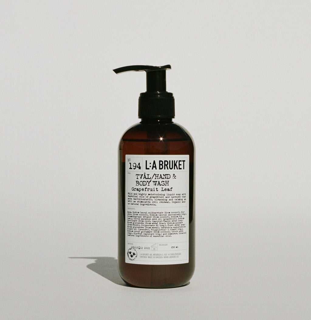 L:A Bruket 194 Hand and Body Wash Grapefruit Leaf