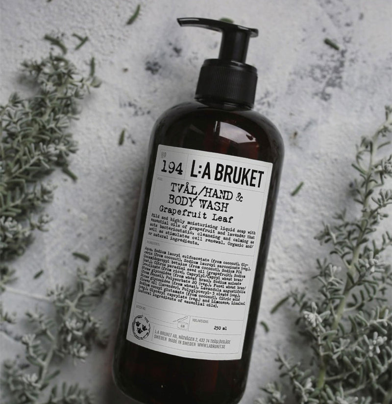 LA Bruket 194 Body Wash Grapefruit Leaf