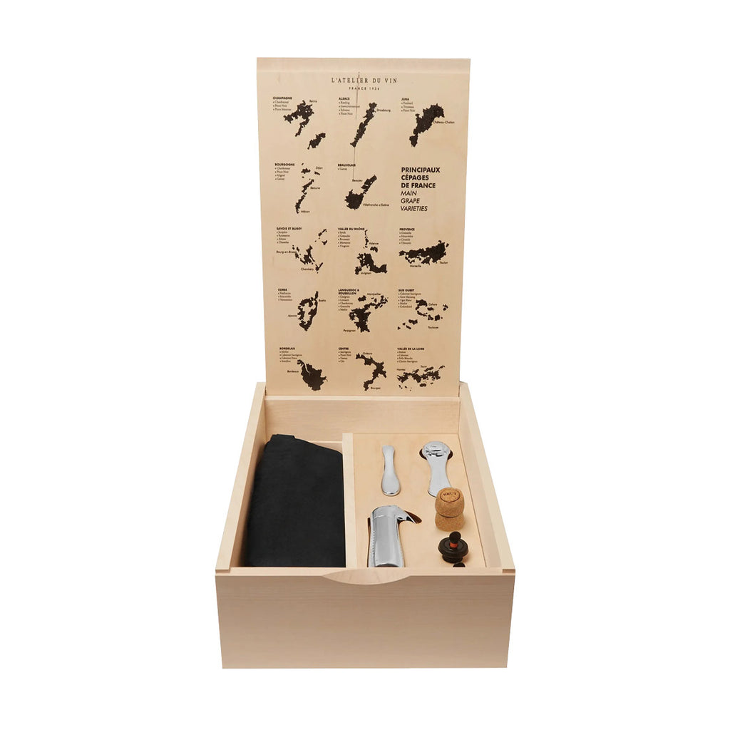 L' Atelier Du Vin Oeno Box Connoisseur 2 Wine Accessory Set