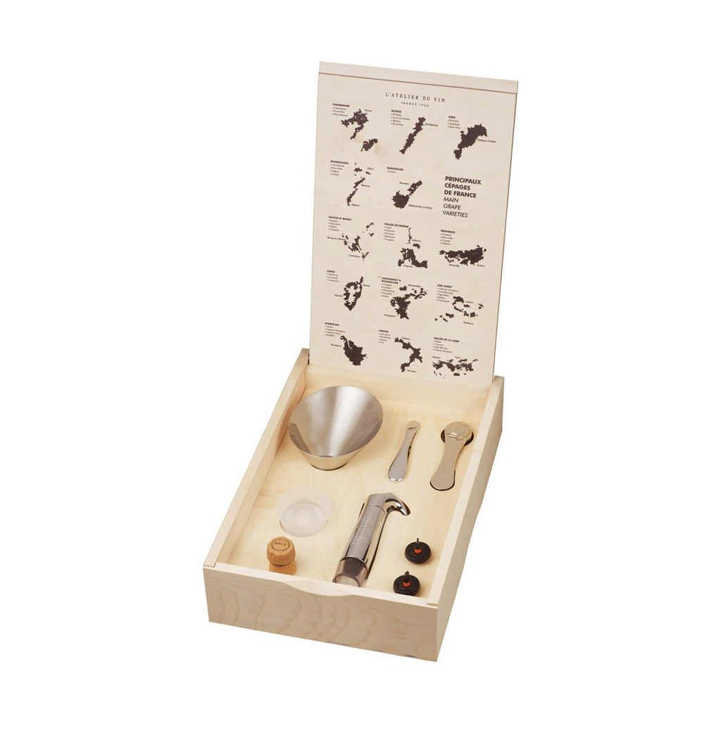 L' Atelier Du Vin Oeno Box Connoisseur 3 Wine Accessory Set