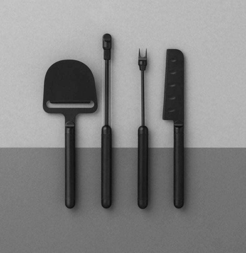 Normann Copenhagen Pebble Cheese Knife Black - C