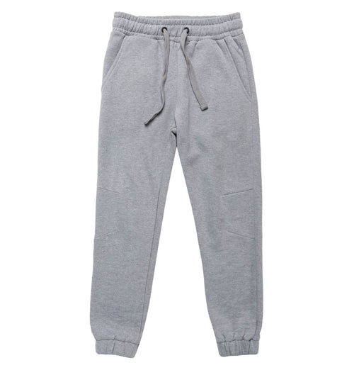 Regular Fit Cotton Sweatpants Melange Grey | The Project Garments - Product