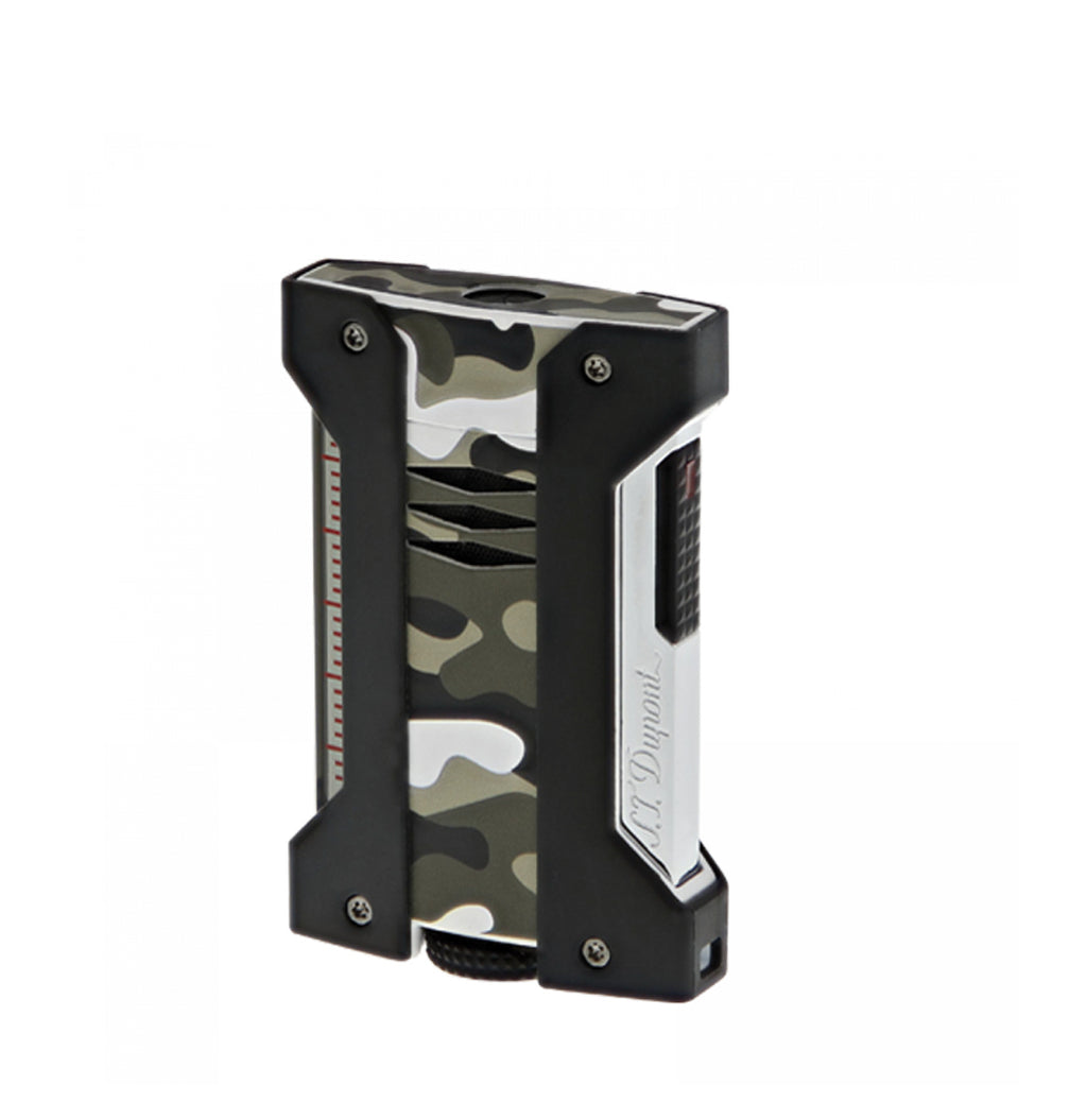 S.T. Dupont Defi Extreme Grey Camouflage Lighter
