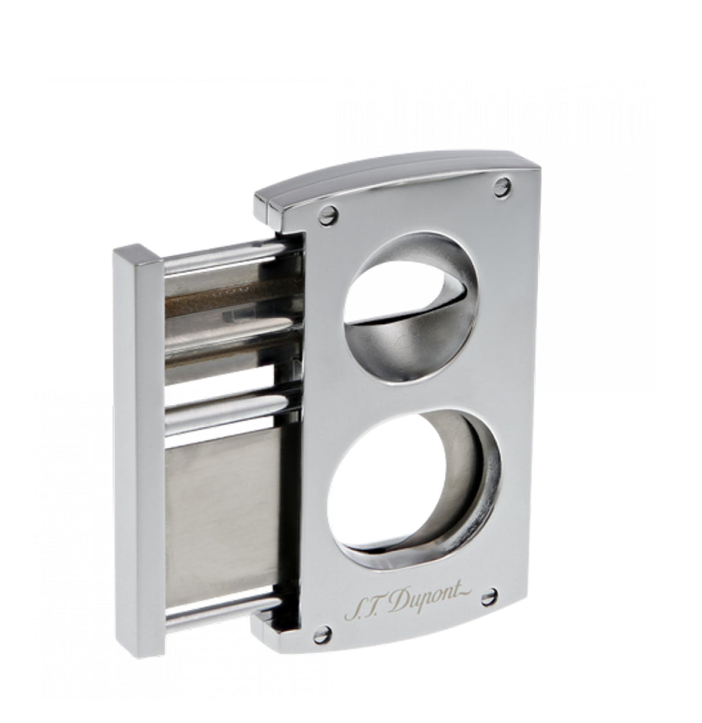 S.T. Dupont Double Blade Cigar Cutter Chrome