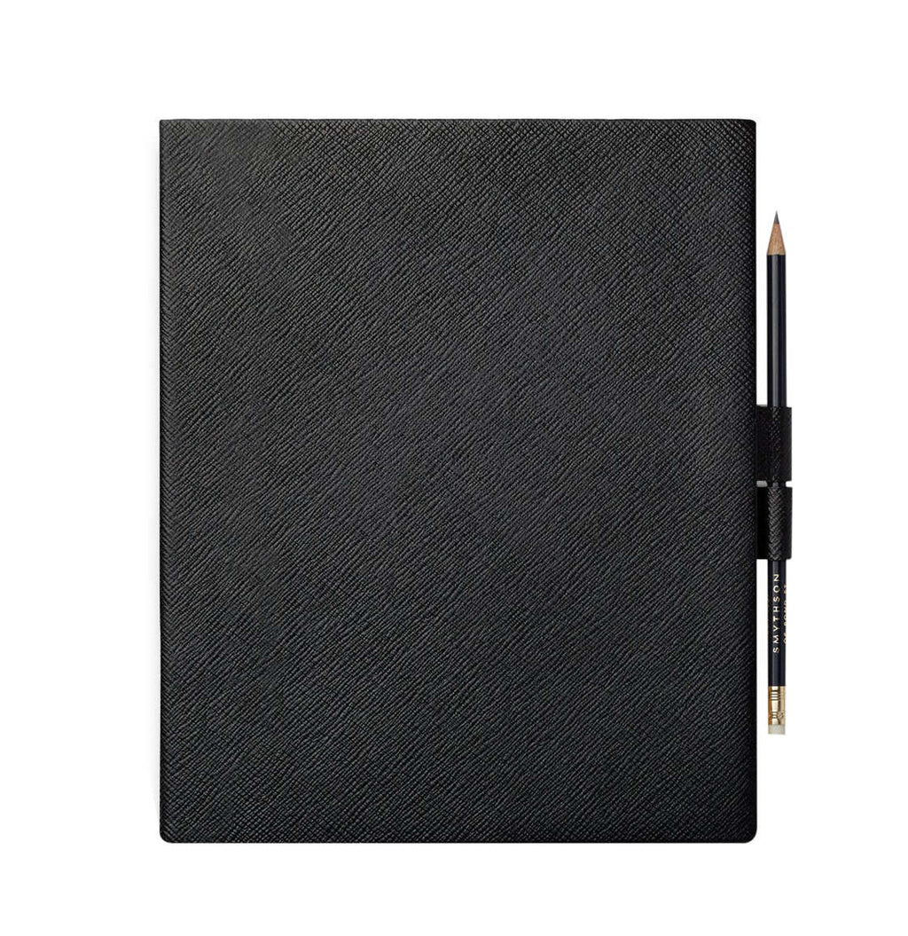 Smythson Portobello Leather Sketchbook