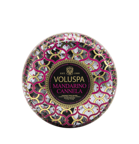Voluspa Amber 3 Wick Candle