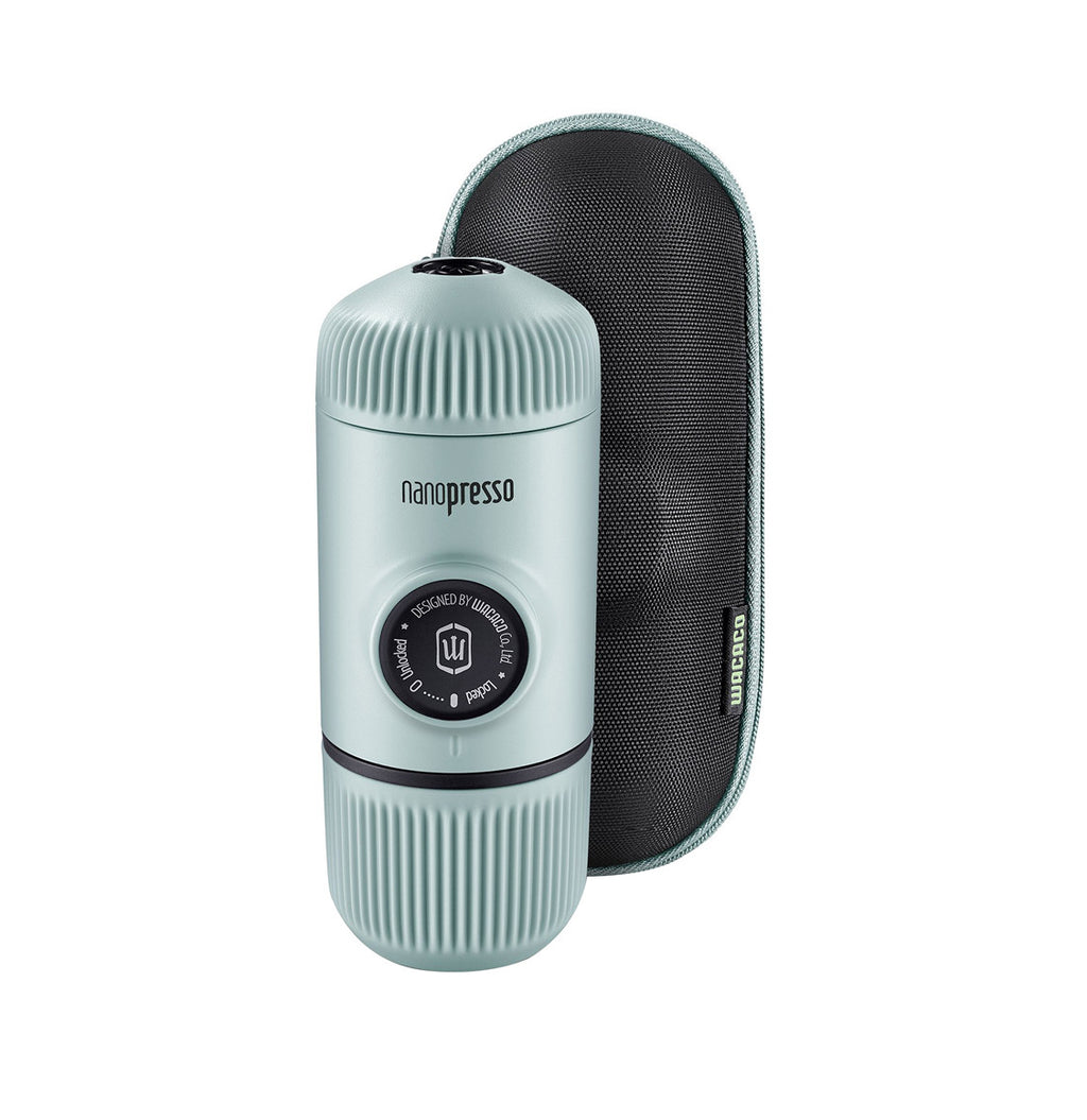 Wacaco Nanopresso Arctic Blue and Hard Case
