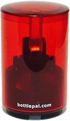 Red Bottlepal - translucent
