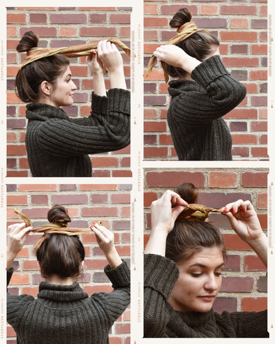 How to Tie a Bandana in your Hair
