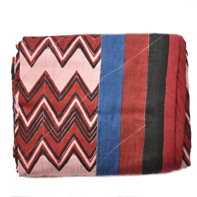 Moroccan Zig Zag Cotton Throw
