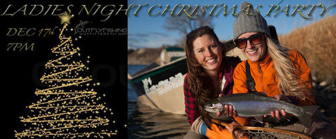 Calgary's Fly Shop Annual Ladies Night Christmas Party