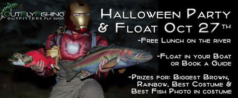 Calgary's Fly Shop Annual Halloween Float and Party