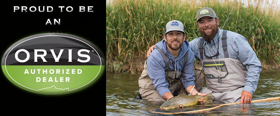 Calgarys Fly Shop and Out Fly Fishing Outfitters Fly Shop are Proudly Orvis Endorsed