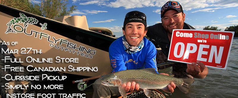 Calgary's Fly Shop Shipping Online Orders