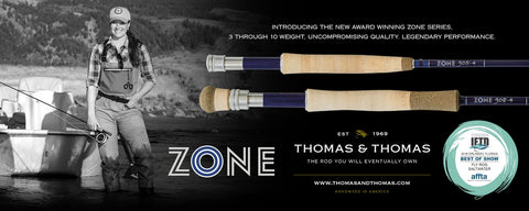 Thomas and Thomas Zone Fly Rods in Canada