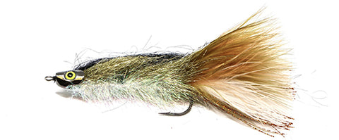 Calgary's Fly Shop Top Dozen Bull Trout Fly Patterns: Articulated Sparkle Minnow