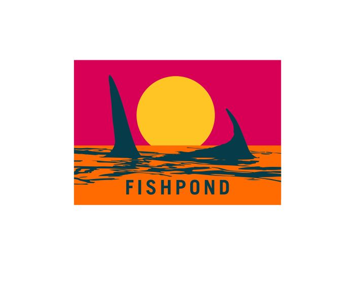 Fishpond Sticker - Endless Permit 7""