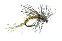 Mayfly Patterns: CDC Winged Emerger - BWO
