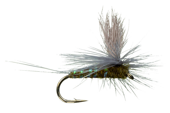 Mayfly Patterns: Para-Wulff - BWO