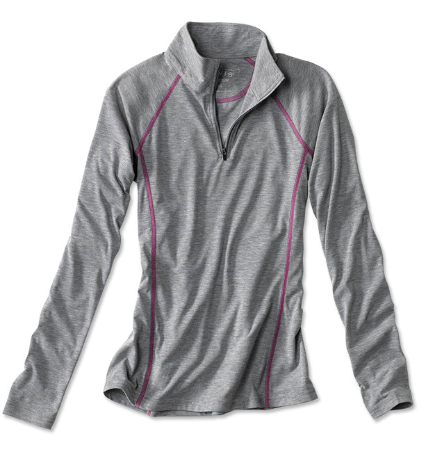 Orvis Women's DRIRELEASE Long-Sleeved Quarter-Zip Tee