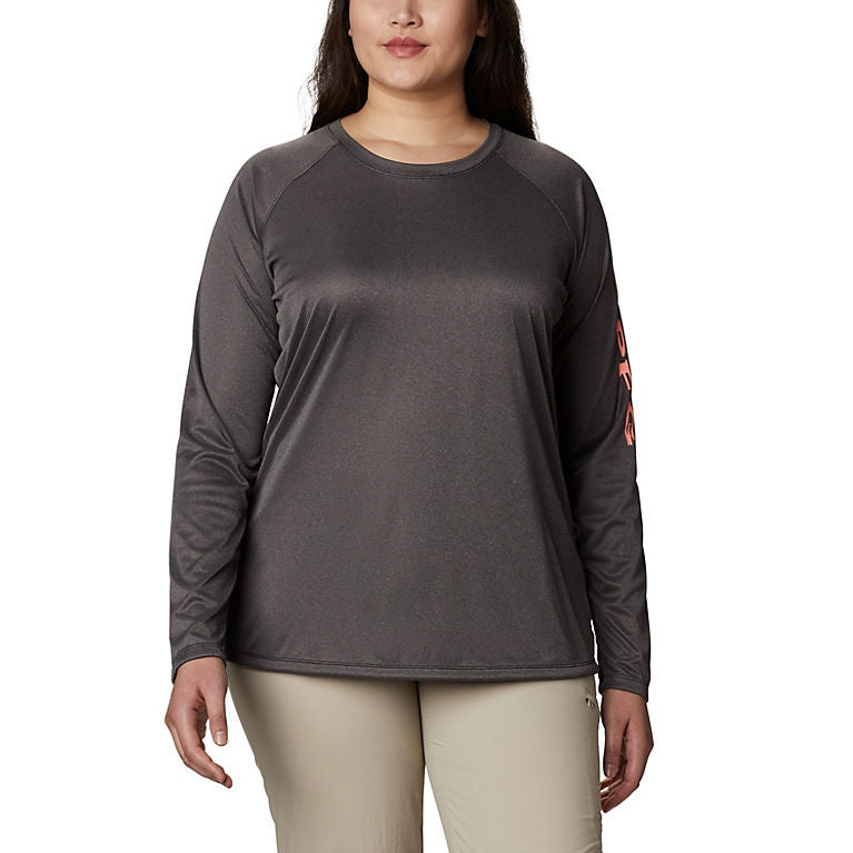 Columbia Women's Tidal Tee Heather Long Sleeve
