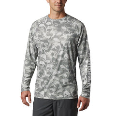 Columbia Men's Terminal Deflector Printed LS