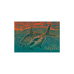 Fishpond Permit Paradise Sticker - 5""