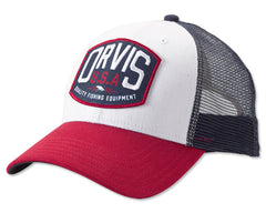 Orvis Hat: Quality Fly Fishing Equipment Logo Trucker Cap