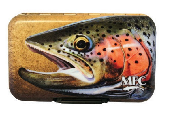 Sundells Rainbow Trout Skin MFC Poly Fly Box