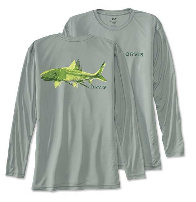 Orvis Men's Bonefish Bones Long-Sleeved Tech T-Shirt