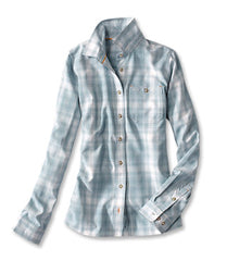 Orvis: Women's Tech Chambray Plaid Workshirt