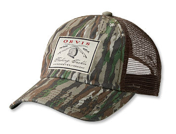 Orvis Vintage Camo Trucker Hat - Real Tree