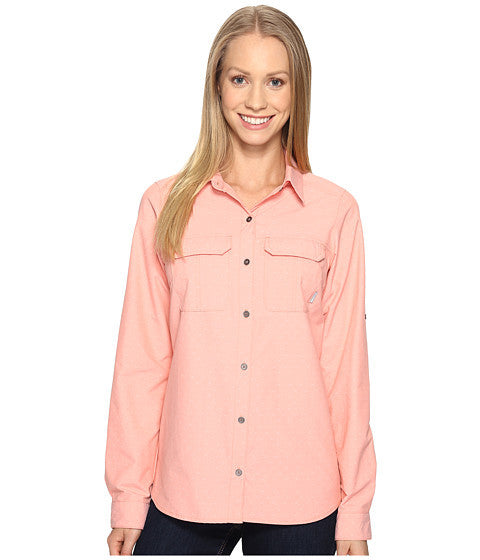 Columbia Women's Pilsner Peak™ Stripe Long Sleeve Shirt