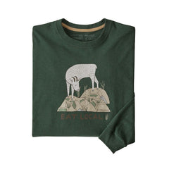 Patagonia Men's Long Sleeve Eat Local Goat Responsibili-Tee